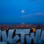 panoramica barcelona graffitis