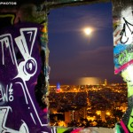Vistas ventana bunker barcelona