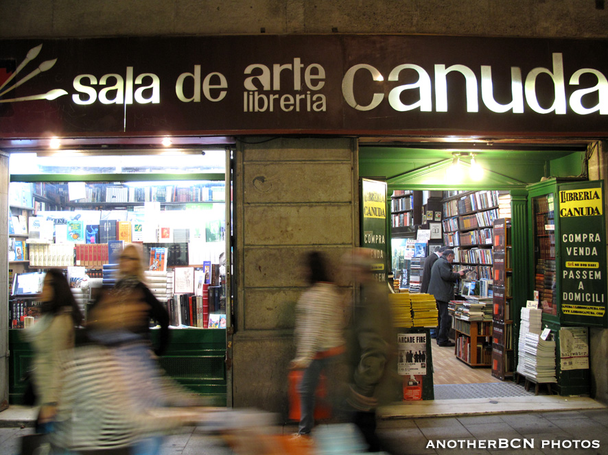 Llibreria Canuda barcelona