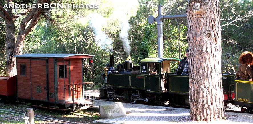 Trenecito del Parque de l'Oreneta