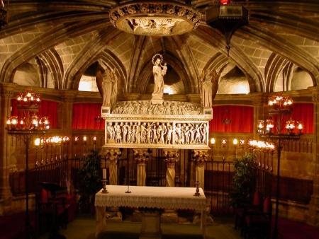 Cripta de Santa Eulàlia, Catedral de Barcelona
