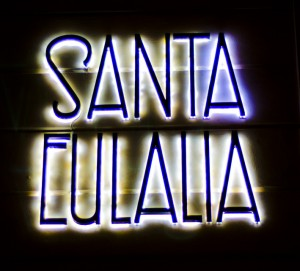 Santa Eulali,a tienda alta costura
