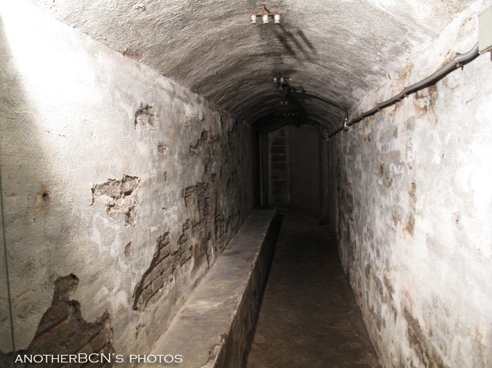 Civil War bomb shelter, Barcelona
