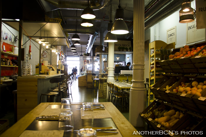 Woki Organic Restaurante, Ronda Universitat