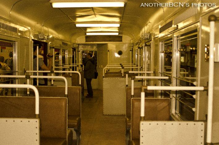 Ruta nocturna metro Barcelona