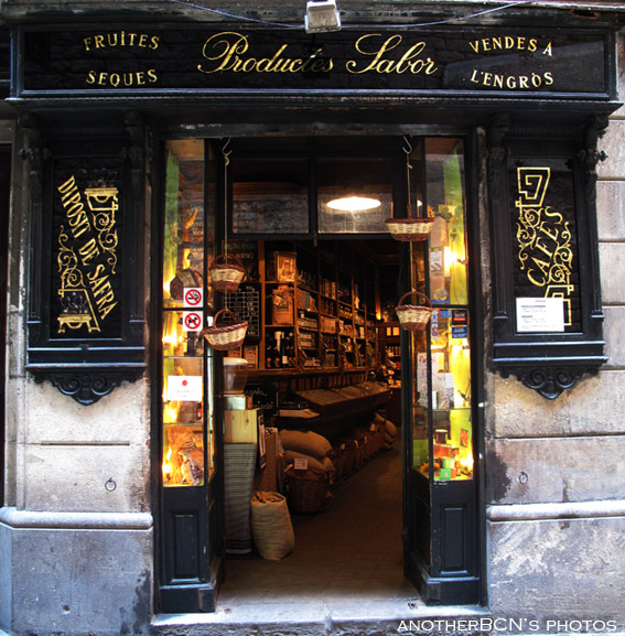 Frutos secos tostados, tienda barcelona
