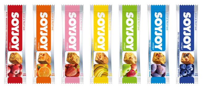 SoyJoy, barritas de soja y fruta