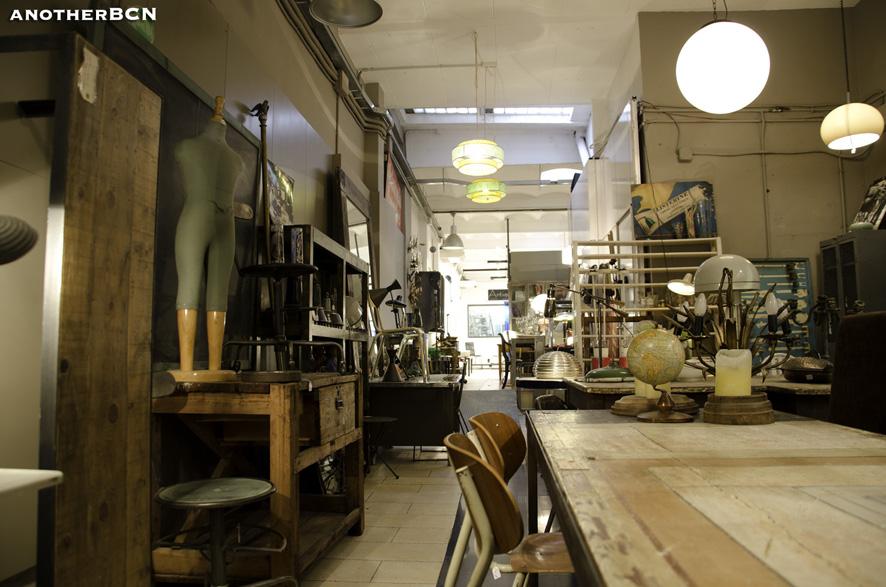 Calle s neca interiorismo en barcelona blog de barcelona - Compra muebles segunda mano barcelona ...