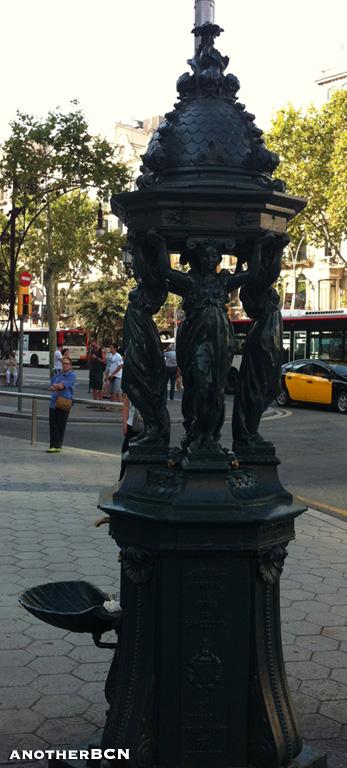 Fuente Wallace Barcelona