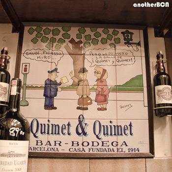 Quimet & quimet taberna Barcelona