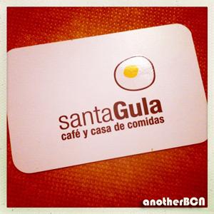 Restaurante Santa Gula Barcelona