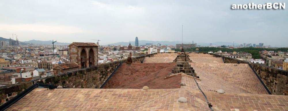 Vistas desde Santa Maria del Mar Barcelona