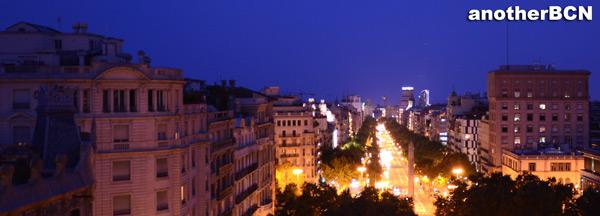 Terraza Hotel Casa Fuster Barcelona, vista Barcelona