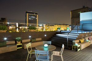 'The Top' terrace of Hotel Gallery, Barcelona