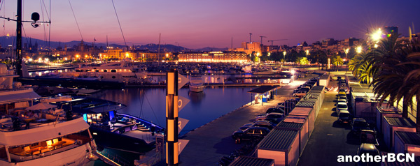 Vistas Puerto Restaurante Barceloneta