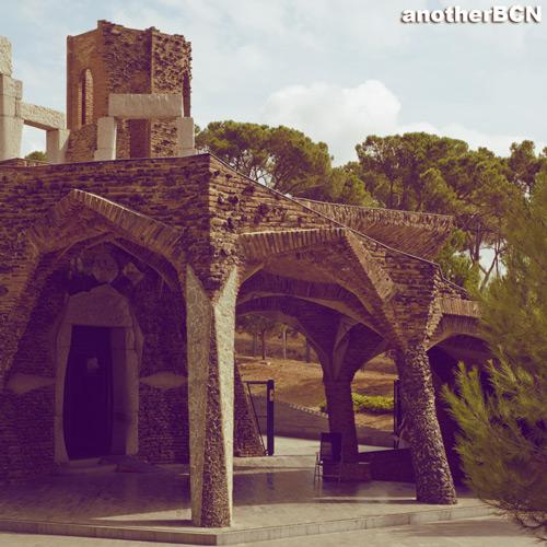 Cripta de la colònia Güell de Gaudí