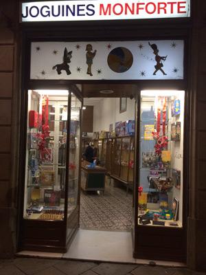 Cierra la tienda de juguetes Monforte