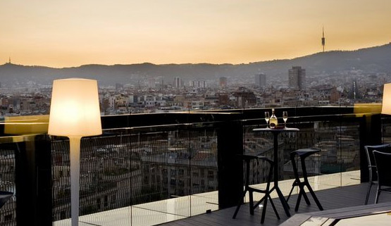 Terraza Hotel Barceló, Barcelona, Rambla del Raval