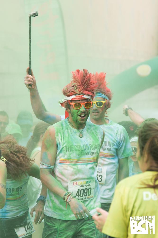 The color Run Barcelona