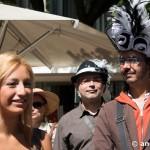 Paseo con sombrero Barcelona