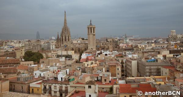 vistas Barcelona Santa Maria del Pi