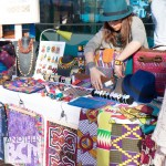 Downtown market, barcelona hippy