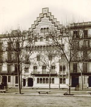 Casa Amatller, modernismo barcelona