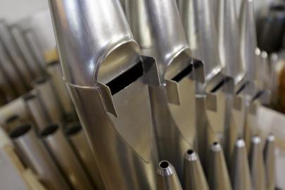 Tubos órgano basílica mercè
