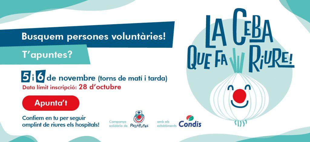 Campanya voluntaris Pallapupas Condis